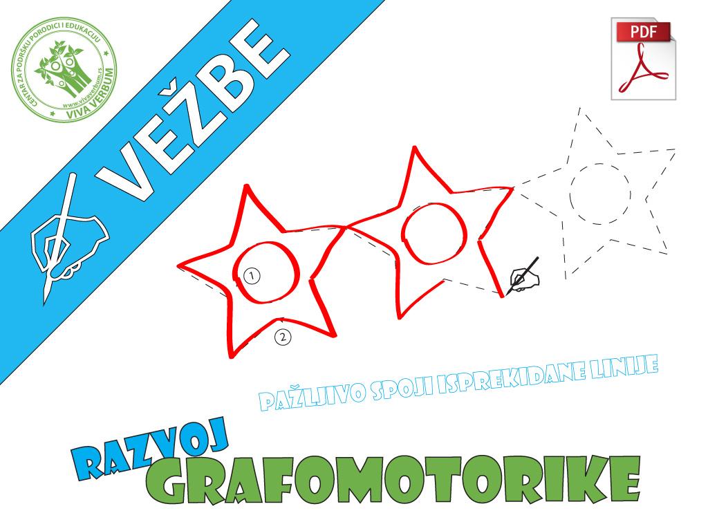 Razvoj grafomotorike - naslov